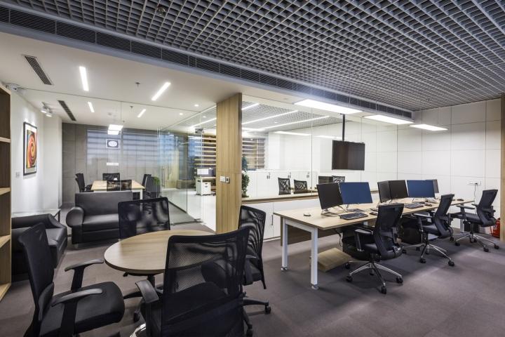 Оригинальный интерьер офиса для индийской компании. Фото 1
