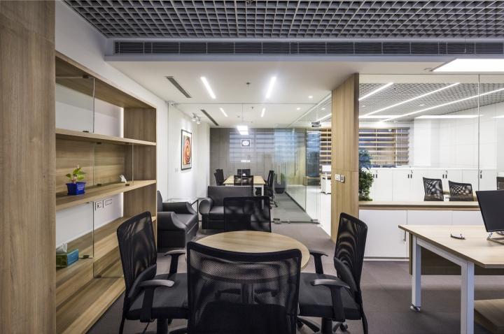 Оригинальный интерьер офиса для индийской компании. Фото 2