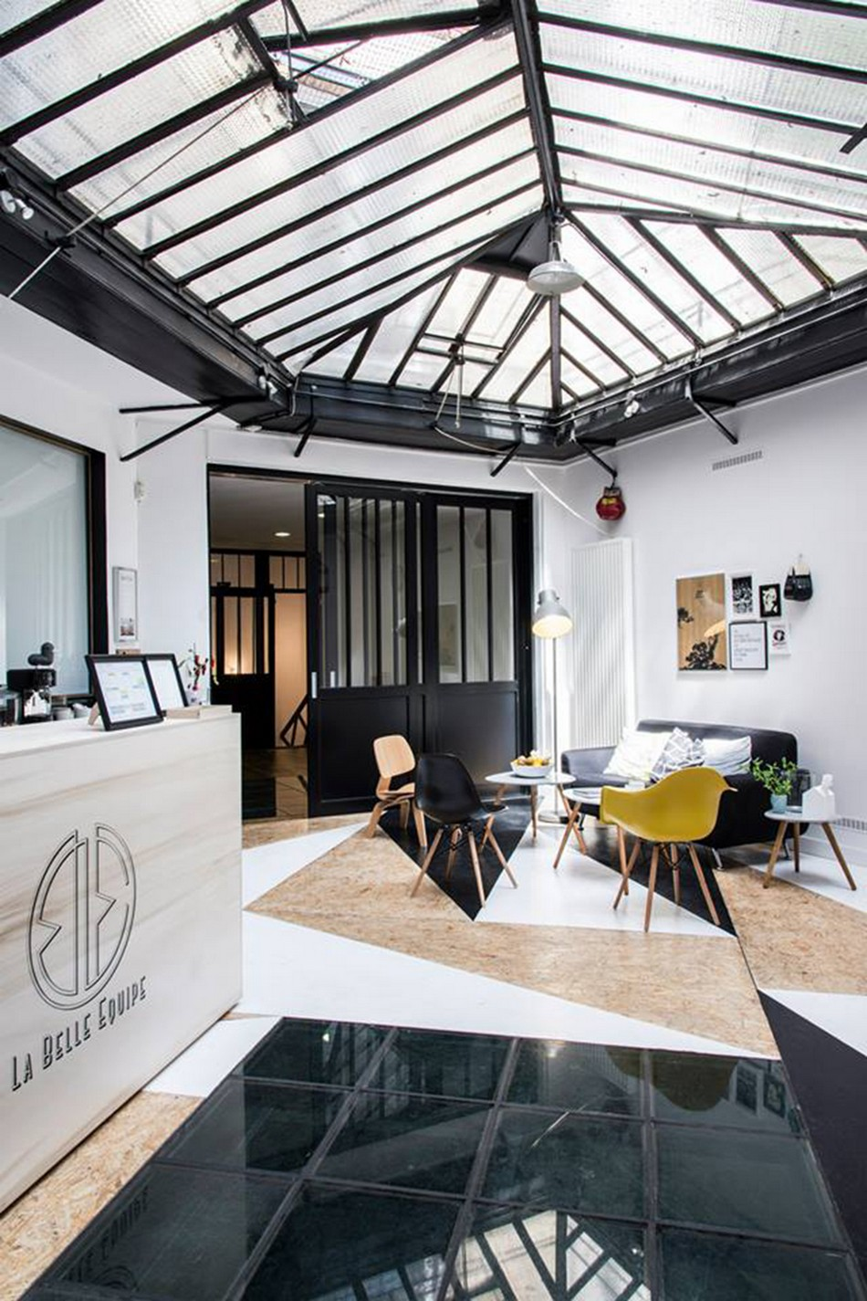 Дизайн интерьера тайского бокс-зала La Belle Equipe в Париже