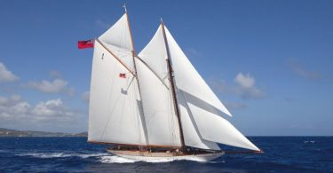 Парусная скоростная яхта Elena от компании Herreshoff Construction Company