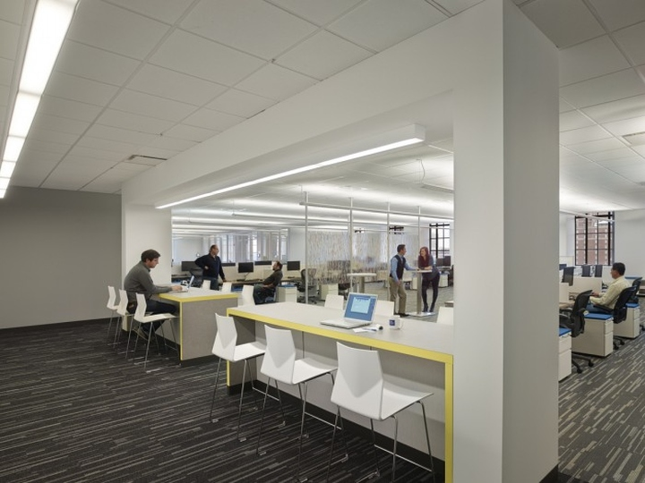 Офис образовательного центра Pearson Education в Бостоне, штат Массачусетс