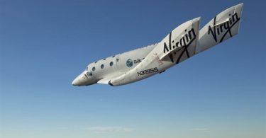 Частный космопорт бизнесмена: SpaseShipTwo в полете