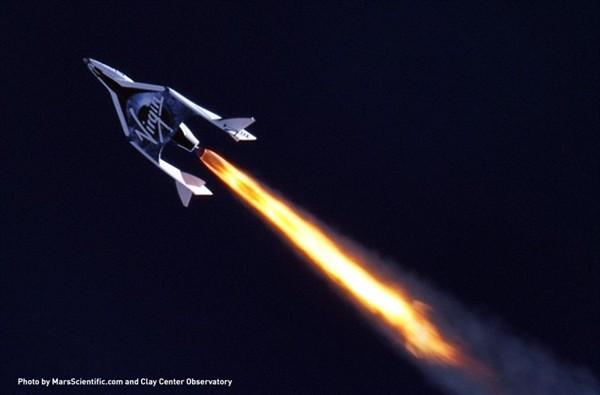 Частный космопорт: сверхзвуковой полет SpaseShipTwo