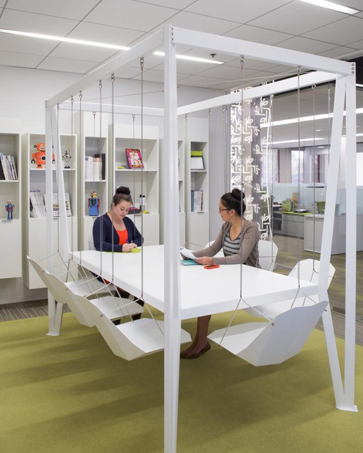 Интерьер офиса компании Pirch в США