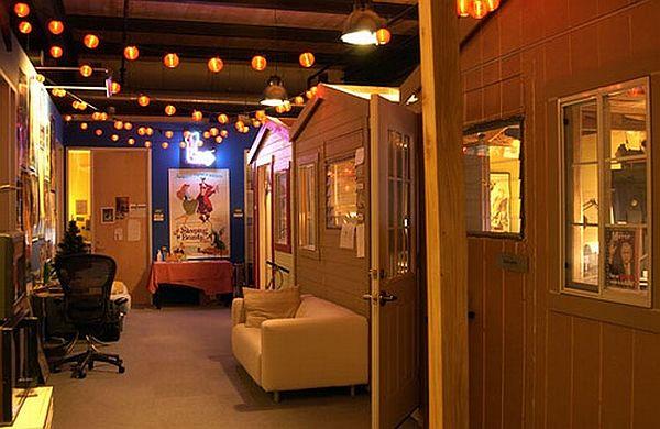 Дизайн лучших офисов: интерьер в студии Pixar