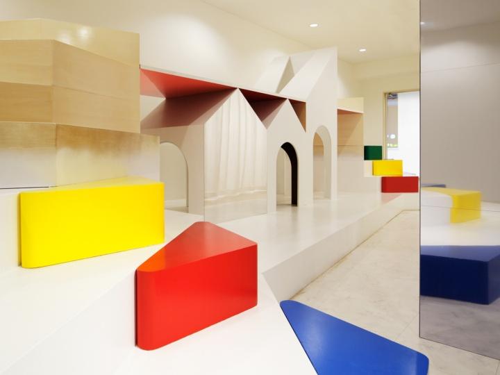 Детский сад PIXY HALL от Moriyuki Ochiai A, Канагава, Япония