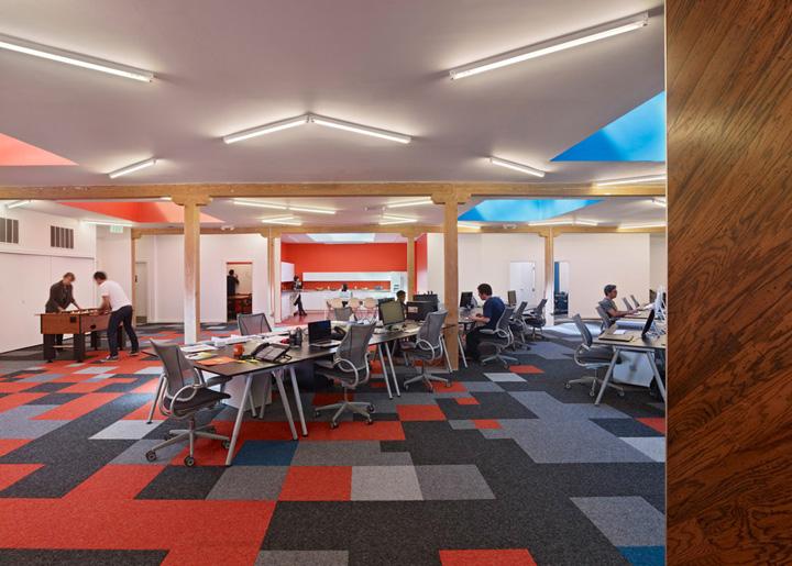 Офис компании Pocket Gems от дизайнеров Min | Day, Сан-Франциско