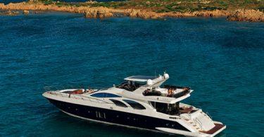 Флайбриджная прогулочная яхта «Azimut 100 Leonardo»