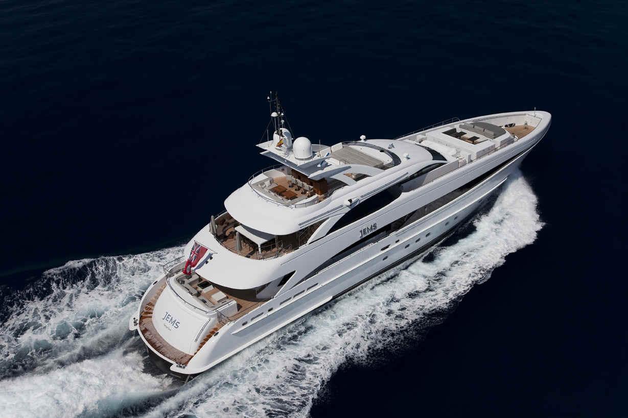 Роскошная прогулочная яхта Jems от фирмы Omega Architects