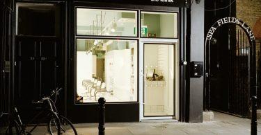 Дизайн парикмахерской в Лондоне