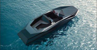 Необычный современный проект дизайна катера Z-Boat