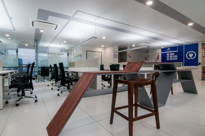 Проект интерьера офиса в Индии