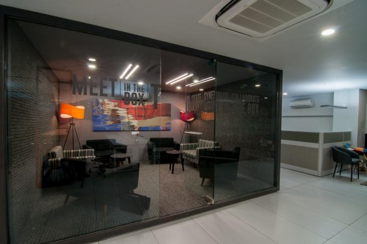 Проект интерьера офиса с комнатами отдыха