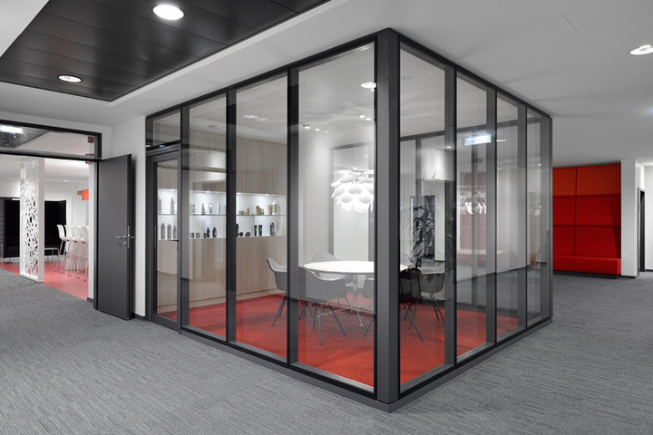 Проект интерьера офисов Henkel