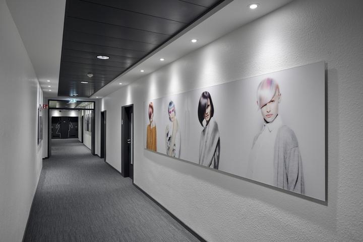 Проект интерьера офисов Henkel: выделение работ