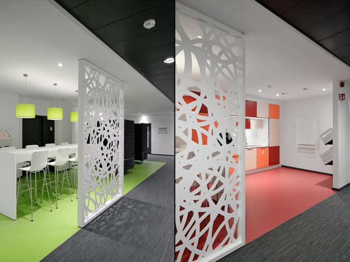 Проект интерьера офисов Henkel: зонирование