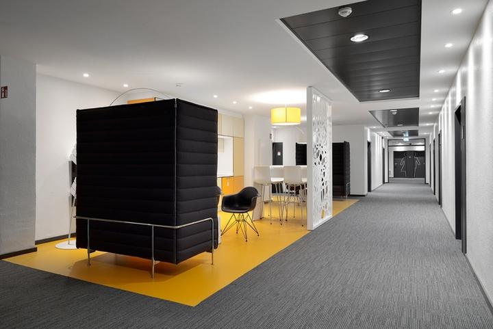 Проект интерьера офисов Henkel от Seel Bobsin Partner