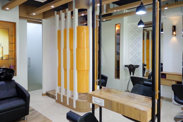 Проект интерьера салона красоты в Ахмедабаде, Индия