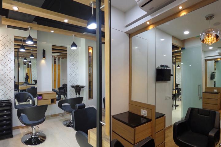 Проект интерьера салона красоты в Ахмедабаде, Индия. Фото 3