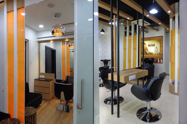 Проект интерьера салона красоты в Ахмедабаде, Индия. Фото 4
