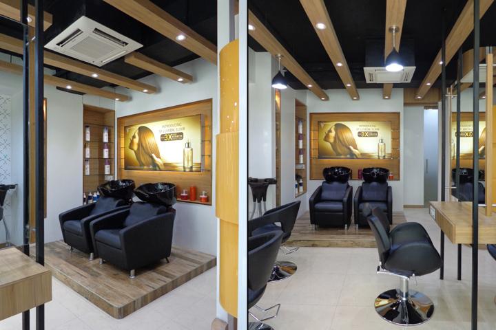 Проект интерьера салона красоты в Ахмедабаде, Индия. Фото 5