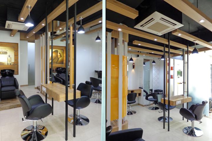 Проект интерьера салона красоты в Ахмедабаде, Индия. Фото 6