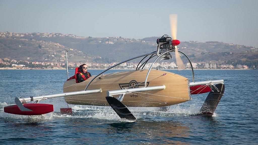 Проект крылатой лодки wFoil Albatross от Томаса Зора