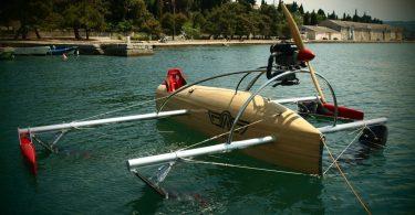 Проект скоростной крылатой лодки wFoil Albatross