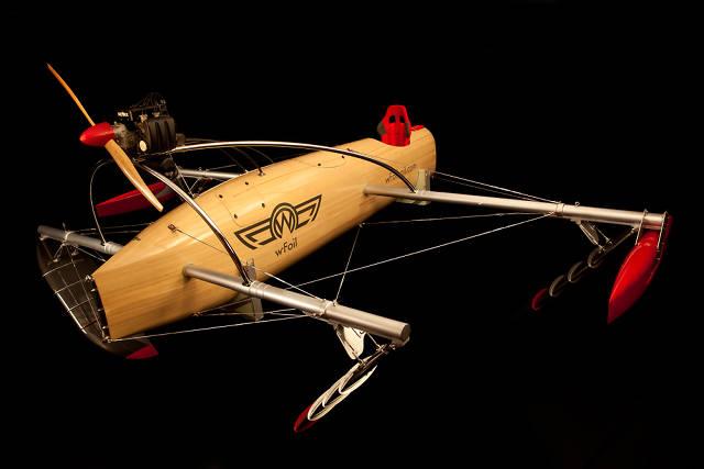 Крылатая лодка wFoil Albatross: пример перфекционизма в технических решениях.