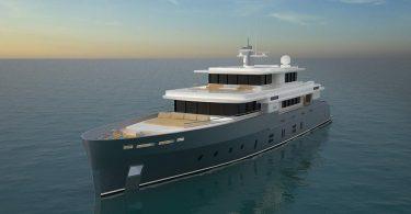 Проект личного крейсера Essence 42.5m от Kingship
