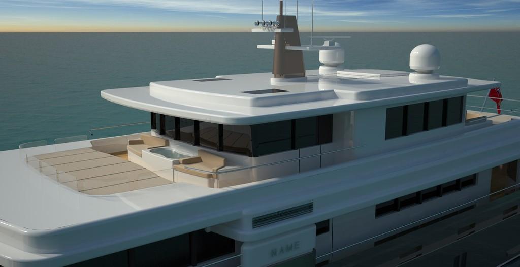 Проект личного крейсера Essence 42.5m