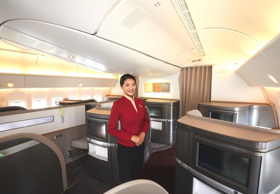 Новый облик первоклассного салона Boeing 777-300 ER от Foster + Partners