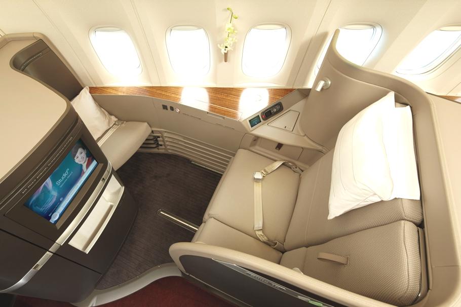 Новый облик первоклассного салона Boeing 777-300 ER: комфорт и уют