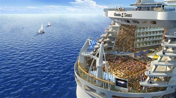 Дорогой проект яхты от Royal Carribbean International