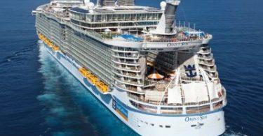 Новый проект яхты компании Royal Carribbean International