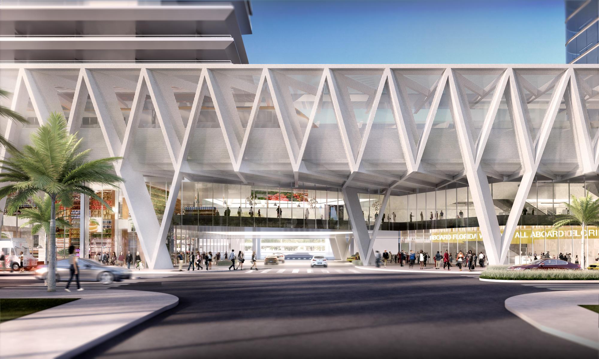 Современный проект железнодорожного вокзала