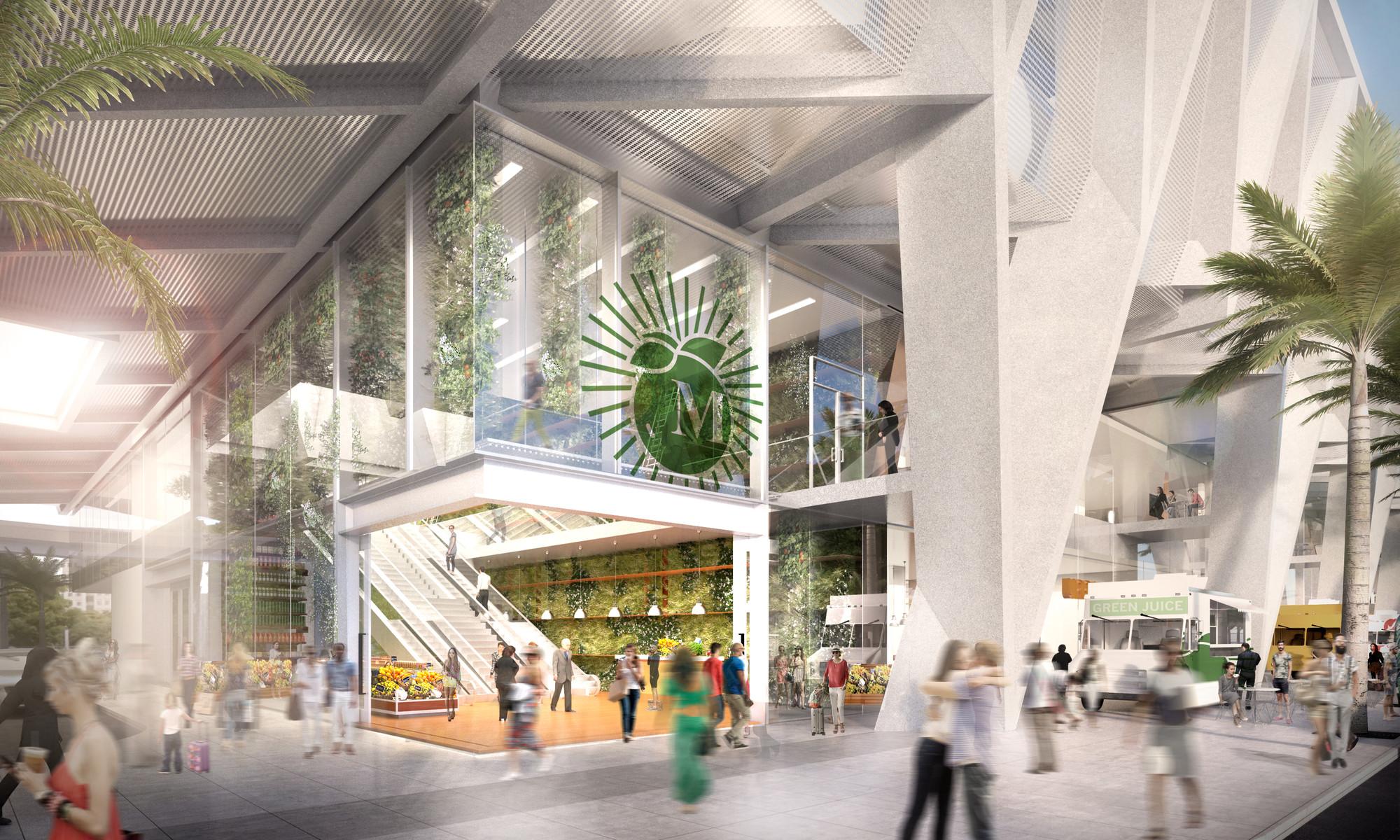 Необычный экстерьер железнодорожного вокзала в белом цвете - Фото 6