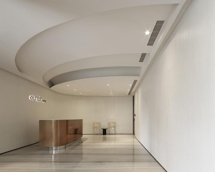 Проектирование интерьера офиса тайваньской студией