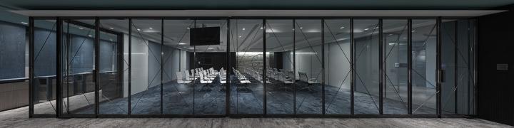 Проектирование интерьера офиса: канференц-зал