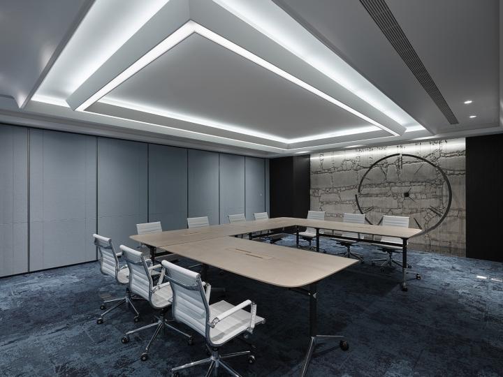 Проектирование интерьера офиса с элементами из нержавеющей стали