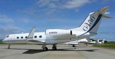 Реактивный самолёт Gulfstream G450 от Gulfstream Aerospace Corporation