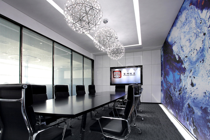 Интерьер офиса компании Richstates в Китае