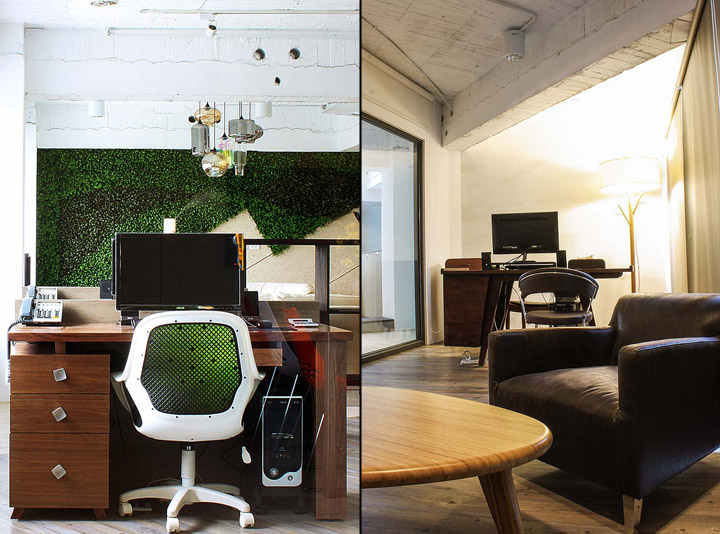 Дизайн офиса от Rien Kuan