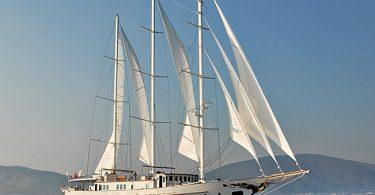 Большая и роскошная парусная яхта Montigne