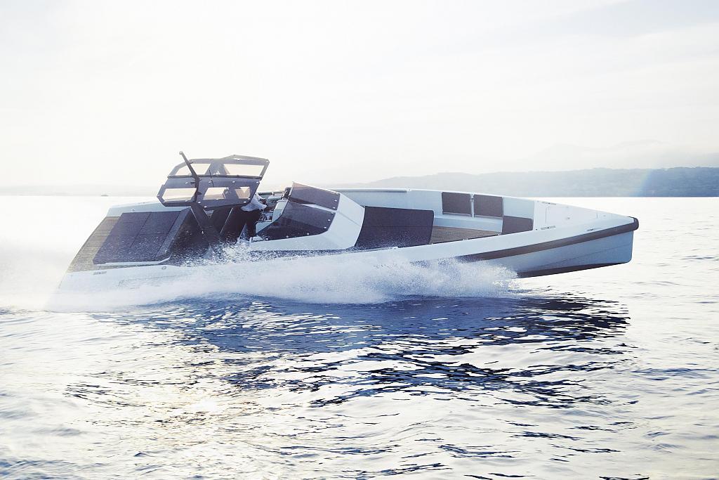 Роскошная WALLY//ONE - прогулочная яхта нового поколения