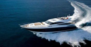 Устойчивая роскошная яхта Princess V-85S