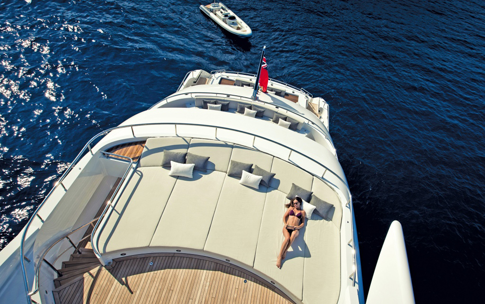 Прогулочная роскошная яхта Satori - фото 1
