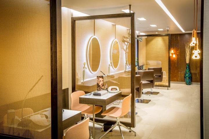 Дизайн салона красоты в пастельных тонах