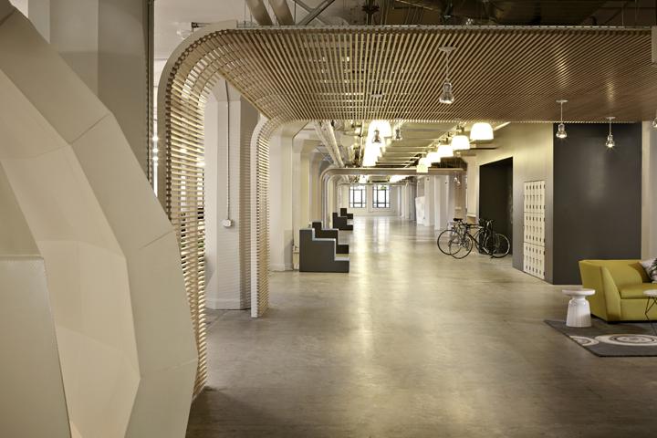 Интерьер офиса Runway в Сан-Франциско – США