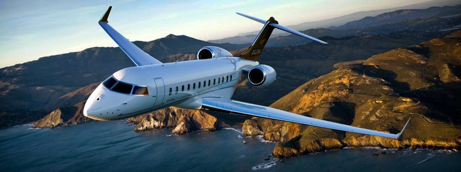 Самолёт бизнес-джет Bombardier Global 6000 был представлен на международной выставке «JetExpo 2012»